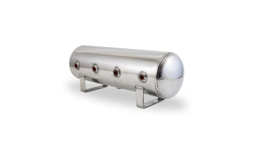 Air Lift 12958 - 2.5 Gallonen Aluminium Tank - poliert